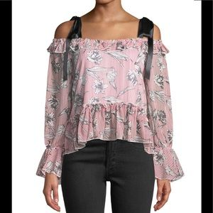 Cold-Shoulder Top ! 5 ⭐️ From Neiman Marcus